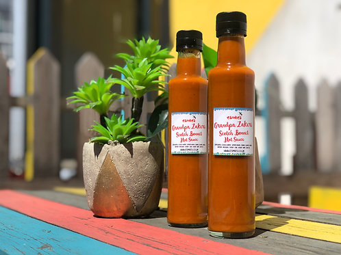 Grandpa Zakers Scotch Bonnet Hot Sauce