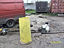 очистка канализационного колодца_004