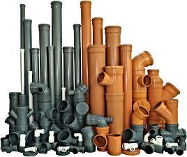 Канализационные трубы - размеры, метериаллы, применение
