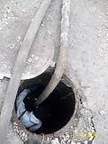 очистка канализационного колодца_003