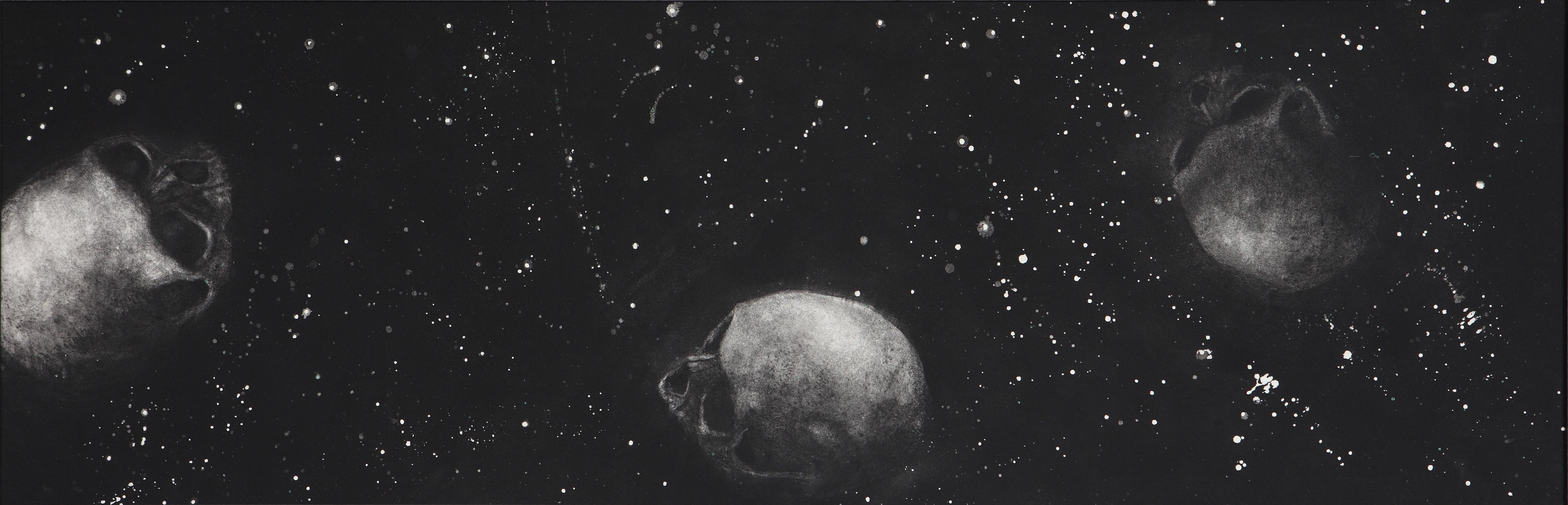 Noir 3 crânes