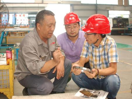 中国500强企业京博集团领导、采购人员、技术员等一行人到公司视察,达成了长期合作意向