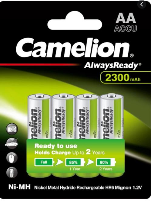 Camelion HH-AA2300ARBP4 Alwaysready AA2300MAH