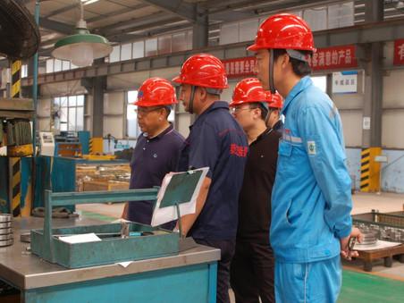 上市公司万德化学项目总经理等集团领导一行人到公司视察验厂,达成深度合作意向
