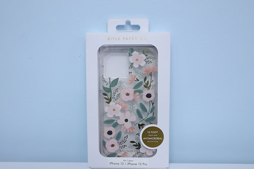 iPhone  (TBD) Rifle Paper Co. - Wild Flowers w/ Antimicrobial
