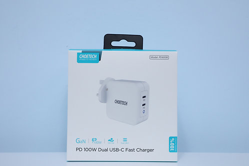 PD 100W GaN Dual USB-C Charger
