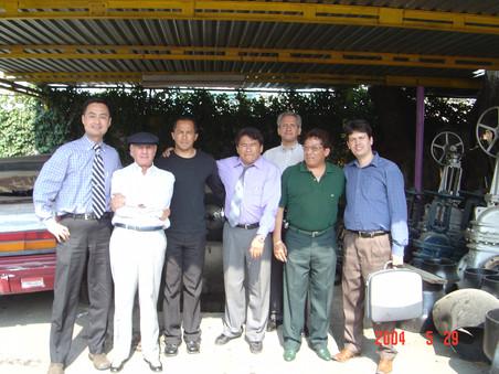 拜访南美知名的库存商与工程公司