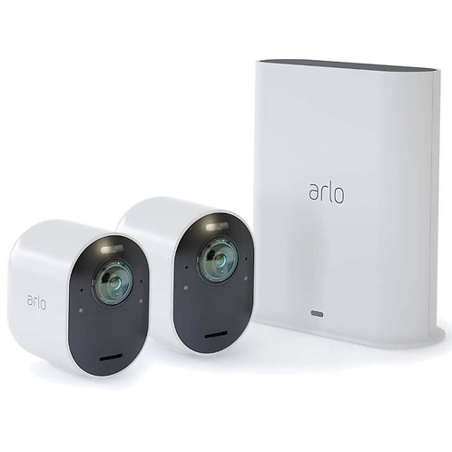 Arlo Ultra Camera, 4k UHD Wire-Free Security 2-camera System