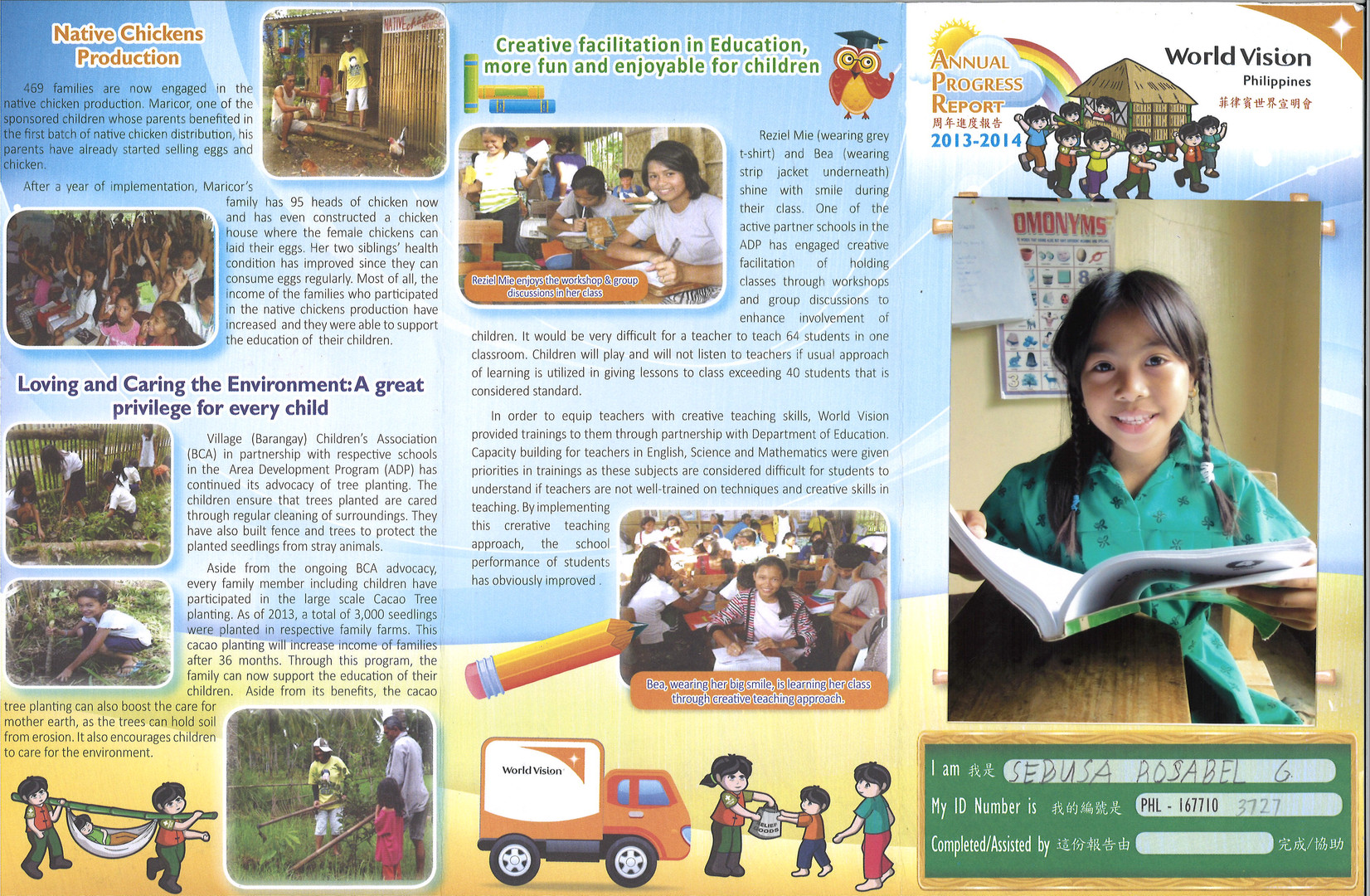 Philippines-Sebusa Rosabel Progress Repo