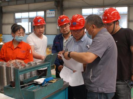 久泰集团领导到隆泰公司视察,达成继续合作意向。