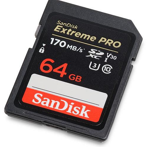 Extreme Pro V30 4K/UHD UHS-I/U3 170MB