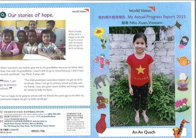 Vietnam-An An Quach Progress Report 2019