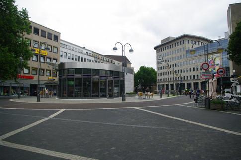 Tiefgarageneingang Bochum