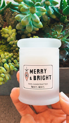 Candle - Merry & Bright