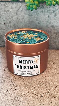 Candle - Merry XMAS Bronze