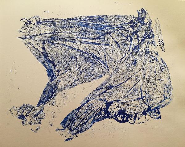 encre sur papier. art abstrait