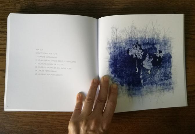 Livre d'artistes Effeuille Temps