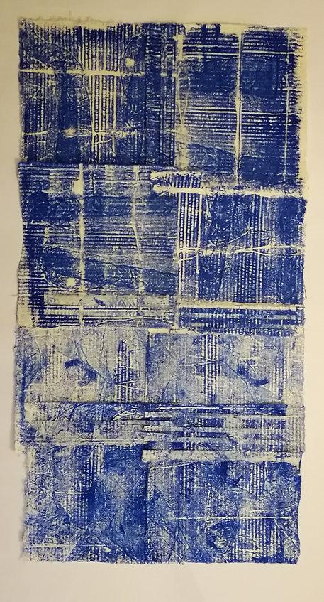 tressage encre sur papier