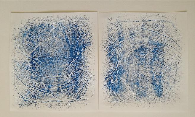 encre sur papier. 40x30 cm