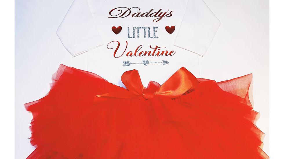 Valentine 3 Piece Tutu Set