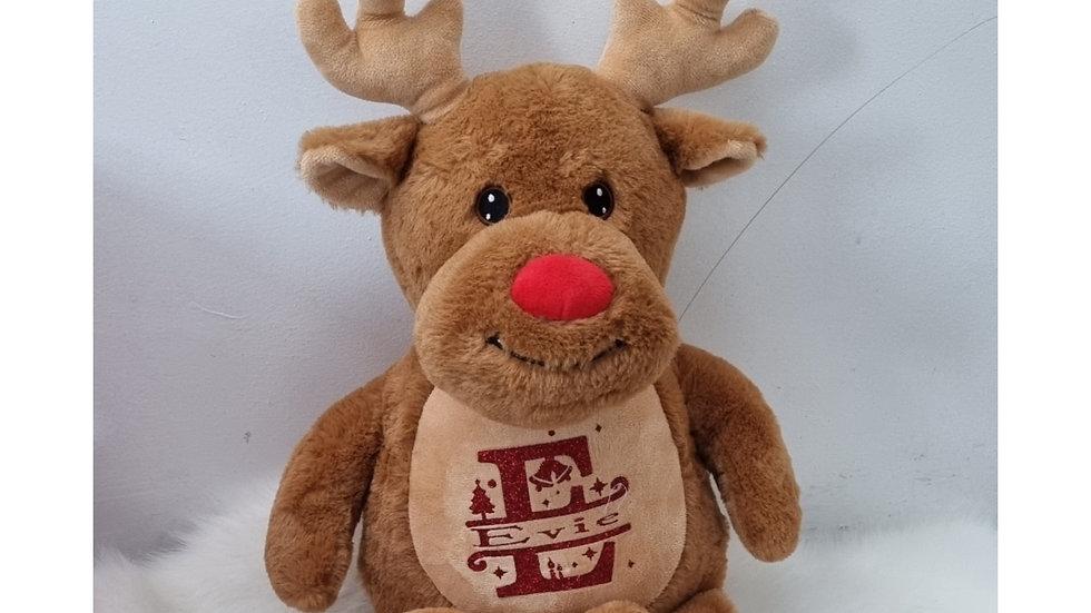 Personalised Christmas Plush  Toy