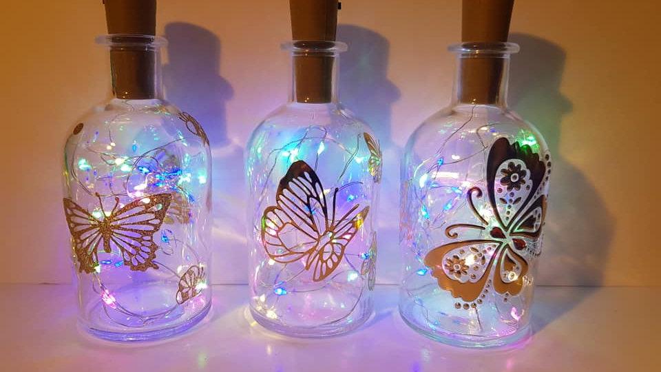 Butterfly Light up Bottle