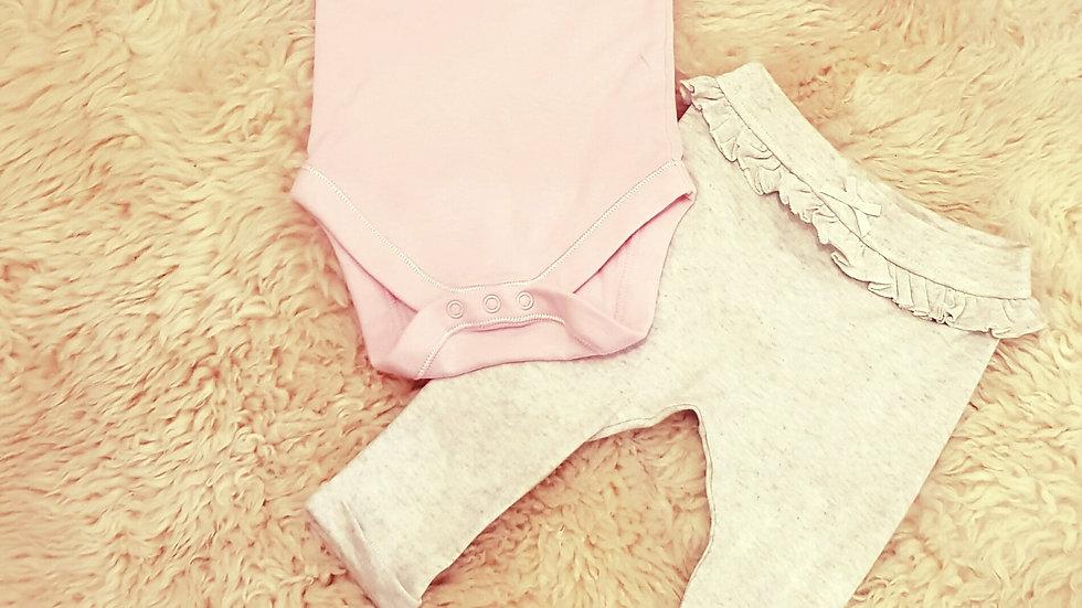 Baby Princess Long Sleeve Legging set