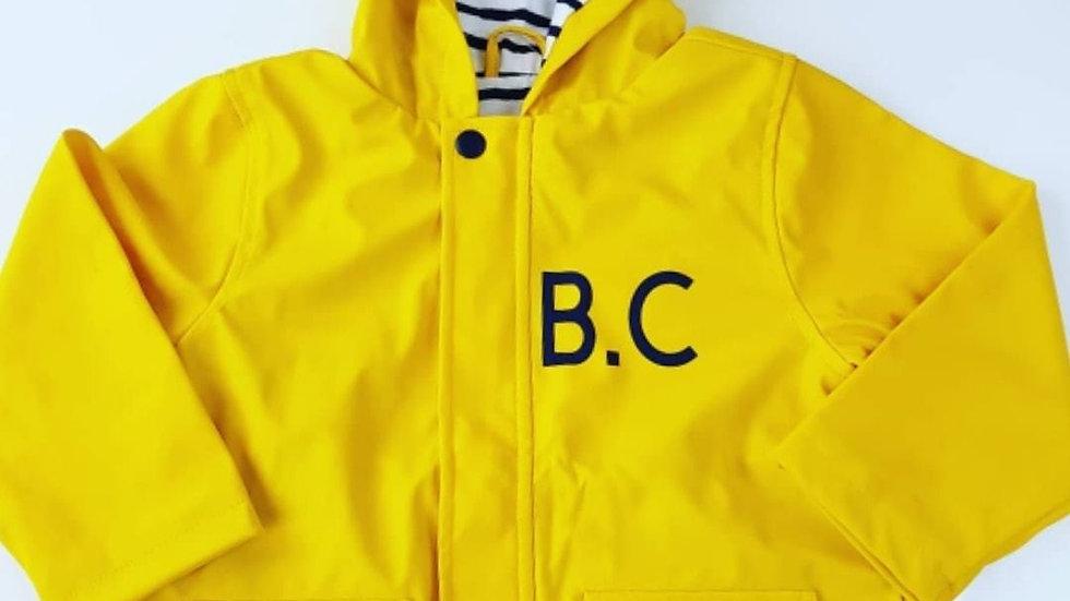 Monogram Raincoat