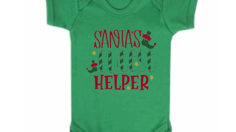 Cutest Helper Christmas Bodysuit