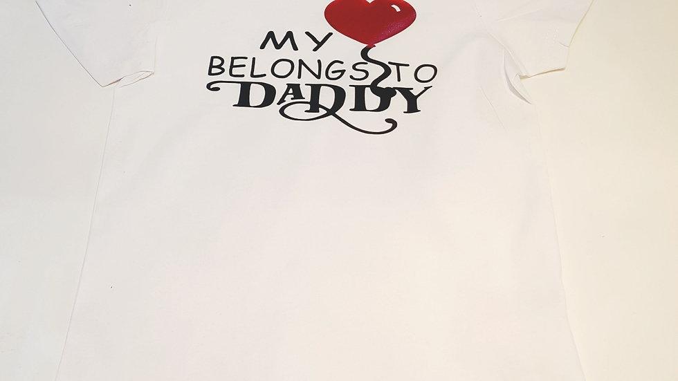 My Heart Short Sleeve T-shirt