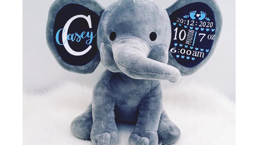 Newborn Birth Detail Elephant