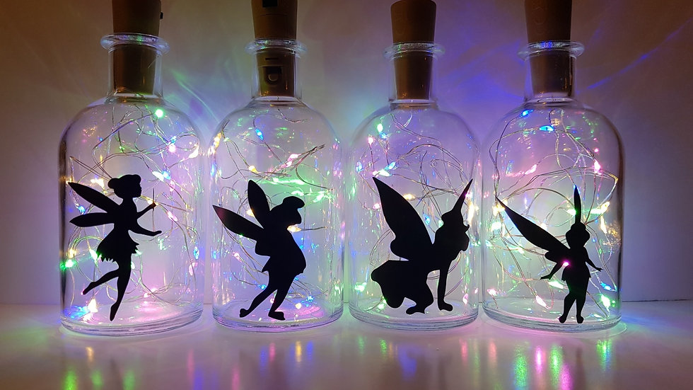 Fairy Light up Bottle