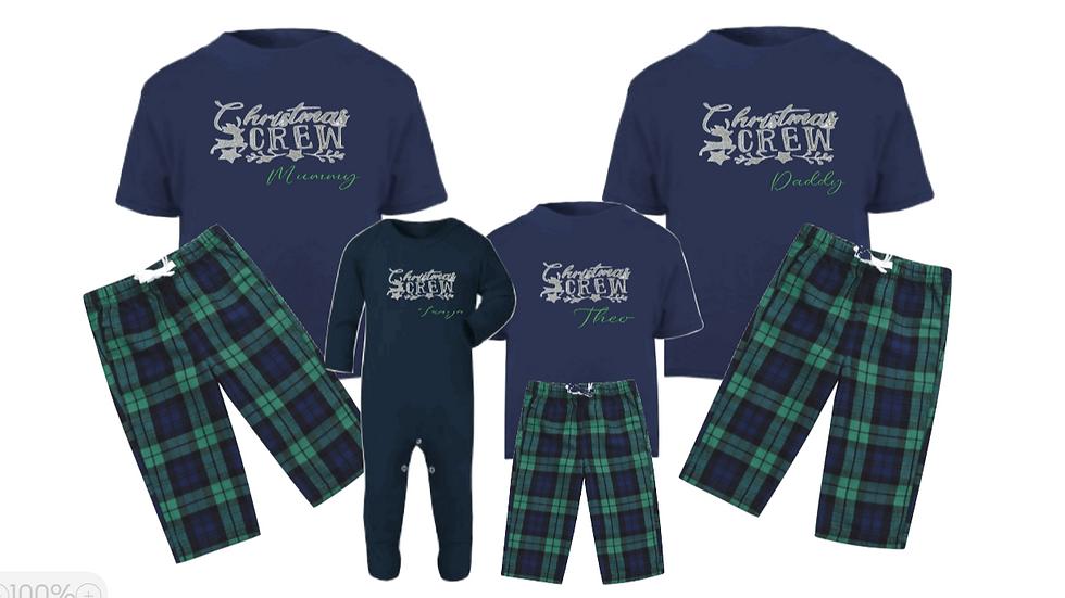 Christmas Crew Family Pyjamas