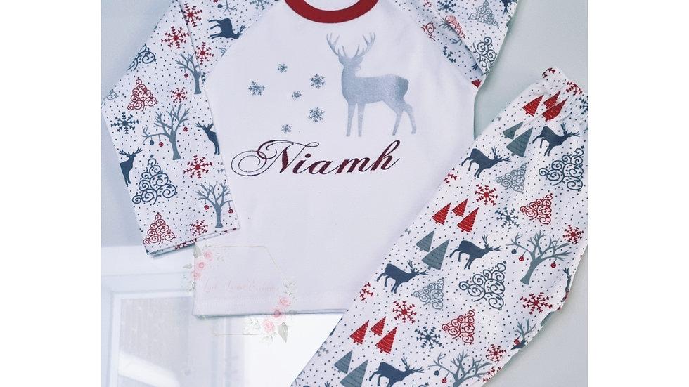 Personalised Christmas Pyjamas