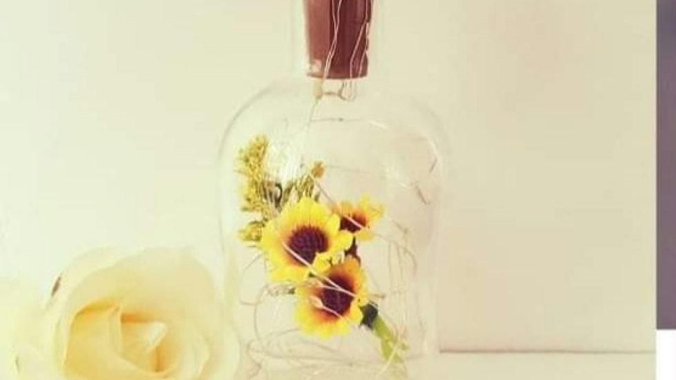 Sunflower Light up Bottle