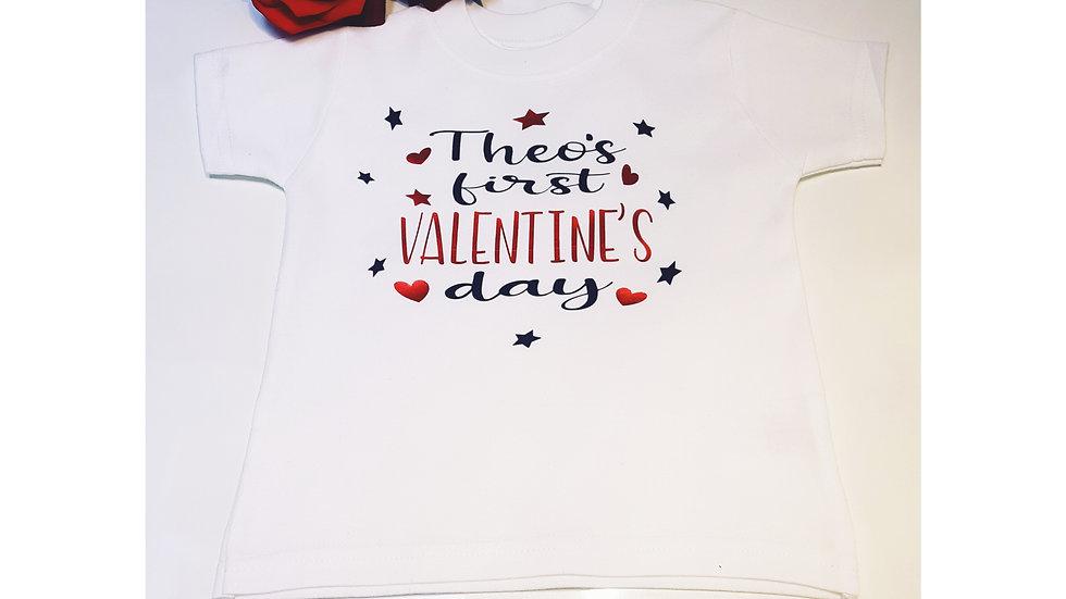 My First Valentine T-shirt