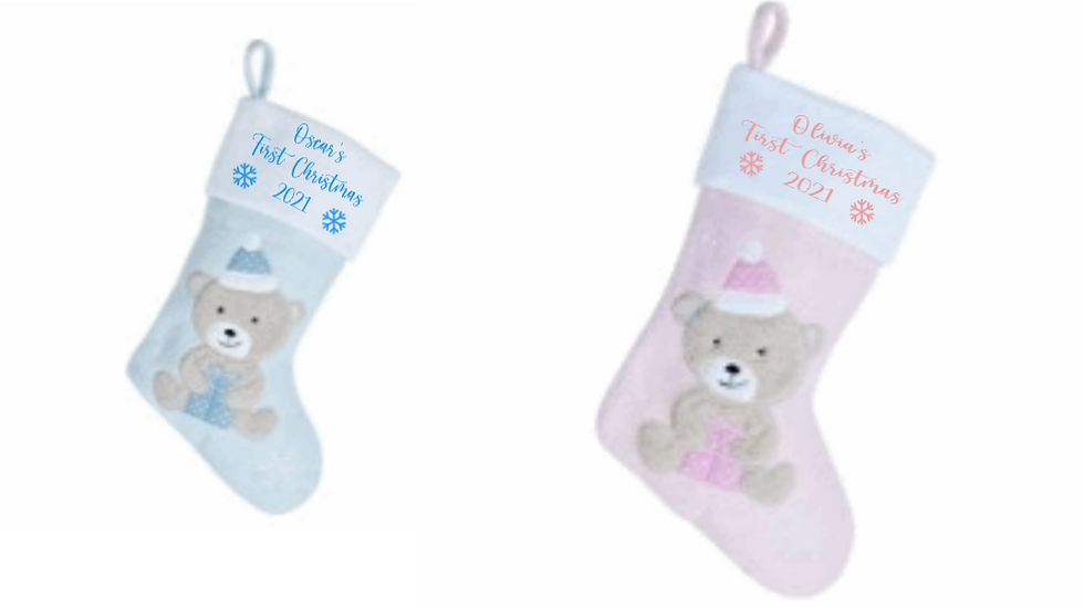 Babies First Christmas Stocking