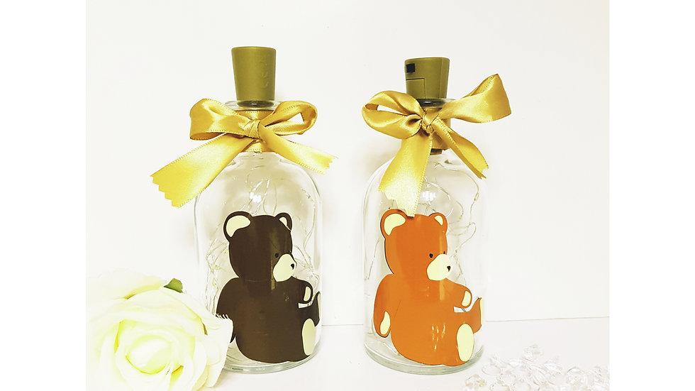 Teddy Bear Light Up Bottle