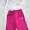 Thumbnail: Personalised White Tshirt Cerise Short set