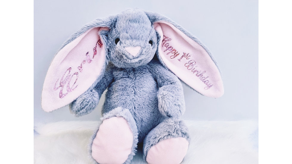 Plush Grey Bunny, Cutomise your own