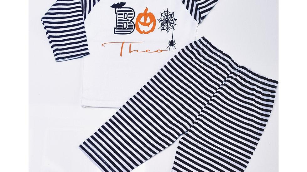 Boys Halloween Pyjamas