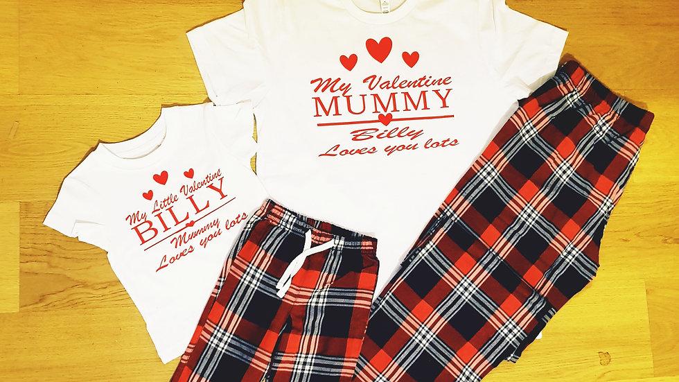 Our Little Valentine Pyjamas