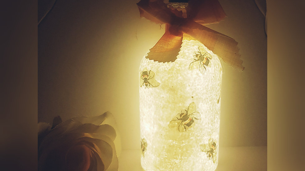 Bumblebee Light up Bottle
