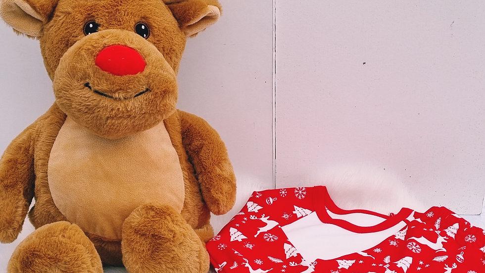 Christmas Plush and Pyjama Set