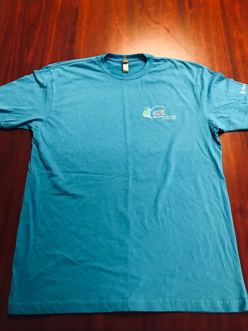 Agassiz Village T-Shirt in Bright Blue