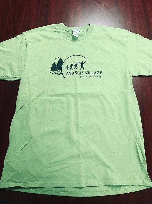 Agassiz Village T-Shirt in Green