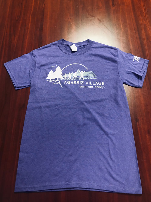 Agassiz Village T-Shirt in Purple