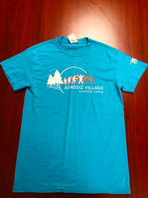 Agassiz Village T-Shirt in Blue