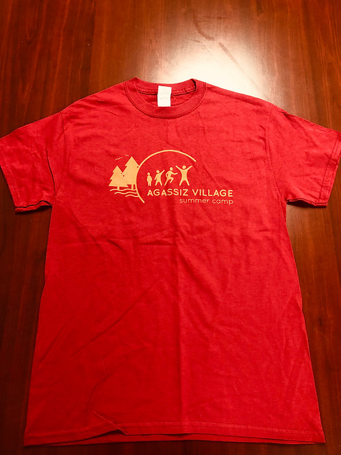 Agassiz Village T-Shirt in Red