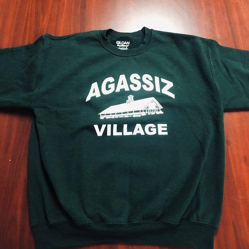Agassiz Village Sweatshirt in Deep Green